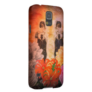 Gorgeous Reflection Vintage Flowers Case For Galaxy S5
