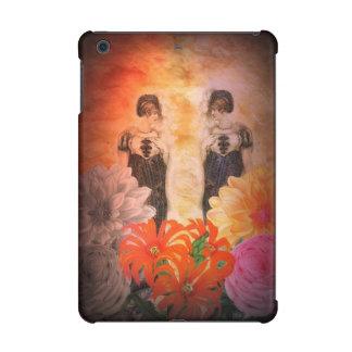 Gorgeous Reflection Vintage Flowers iPad Mini Cover