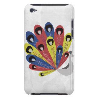 Gorgeous Retro Peacock iPod Case-Mate Cases