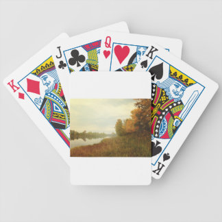 GORGEOUS RIVER GARDEN BICYCLE PLAYING CARDS