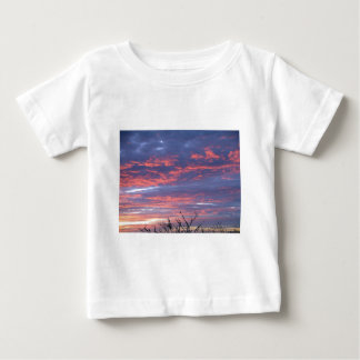 Gorgeous Romantic Sunset Sky Baby T-Shirt