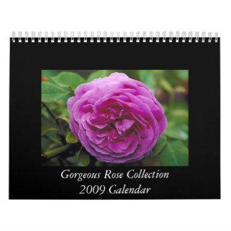 Gorgeous Rose 2009 Calendar