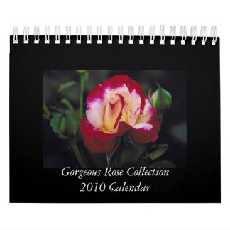 Gorgeous Rose 2010 Calendar