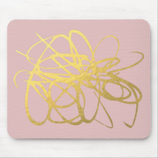 Gorgeous Rose & Gold Mousepad for Your office