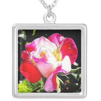 Gorgeous Rose Personalized Necklace