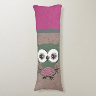 Gorgeous Rustic Owl Body Pillow