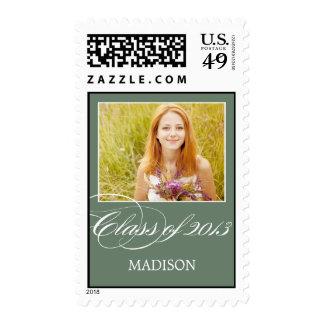 Gorgeous Script Custom Graduation Stamp