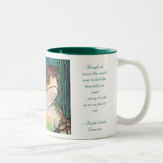 Gorgeous Sea Turtle Stained Glass Style Art Mugs