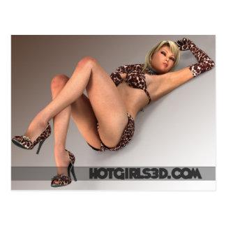 Gorgeous Sexy Women - Hot Bikini Girls Postcard