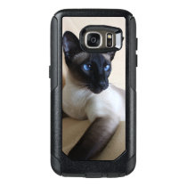 Gorgeous Siamese Cat Face OtterBox Samsung Galaxy S7 Case