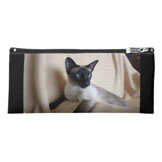 Gorgeous Siamese Cat Face Pencil Case