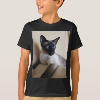 Gorgeous Siamese Cat Face T-Shirt