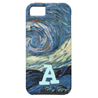 Gorgeous Starry Night by Van Gogh iPhone SE/5/5s Case
