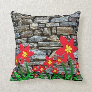 Gorgeous Stonewall Floral Throw Pillow