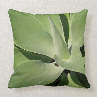 Gorgeous Succulent Plant Cotton Throw Pillow