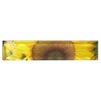 Gorgeous Sunflower Desk Name Plate