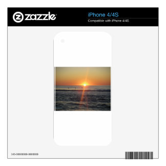 Gorgeous sunrise decals for iPhone 4S