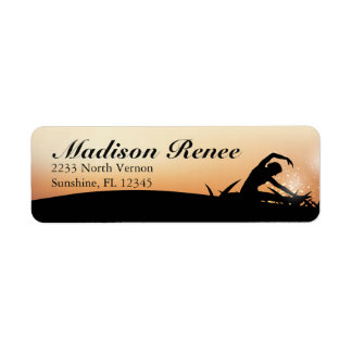 Gorgeous Sunrise Yoga Fitness Label