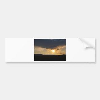 Gorgeous Sunset Car Bumper Sticker