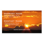 Gorgeous Sunset Double-Sided Standard Business Cards (Pack Of 100)