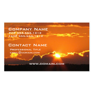 Gorgeous Sunset Business Cards