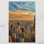 "Gorgeous Sunset in Manhattan, New York City<br><div class=""desc"">A beautiful sunset in New York City,  overlooking the Empire State Building.</div>"
