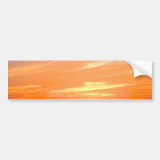 Gorgeous Sunset   Turks and Caicos Photo Bumper Sticker