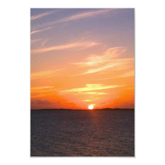 Gorgeous Sunset | Turks and Caicos Photo Card