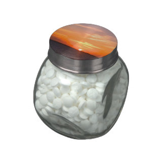 Gorgeous Sunset | Turks and Caicos Photo Jelly Belly Candy Jar