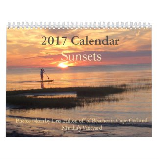 Gorgeous Sunsets 2017 Calendar