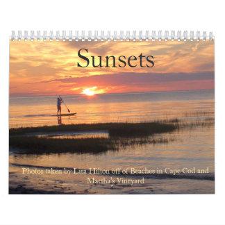 Gorgeous Sunsets  Calendar