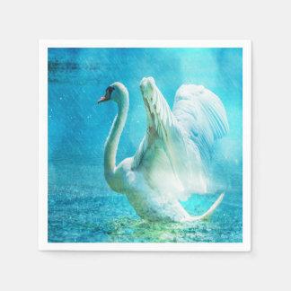 Gorgeous Swan Paper Napkins