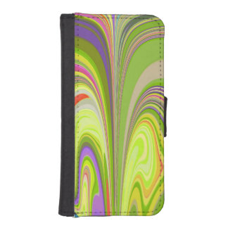 Gorgeous Swirls of Color iPhone SE/5/5s Wallet Case