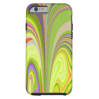 Gorgeous Swirls of Color Tough iPhone 6 Case