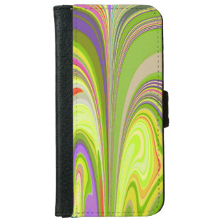 Gorgeous Swirls of Color Wallet Phone Case For iPhone 6/6s