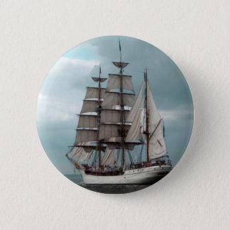 Gorgeous Tall Ship Button