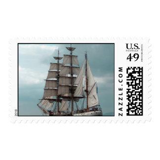 Gorgeous Tall Ship Postage