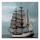 Gorgeous Tall Ship Poster