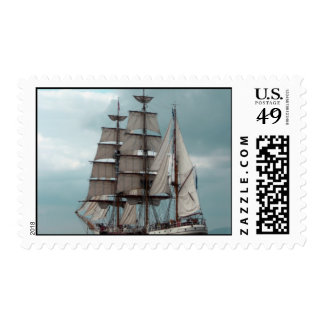 Gorgeous Tall Ship Stamp