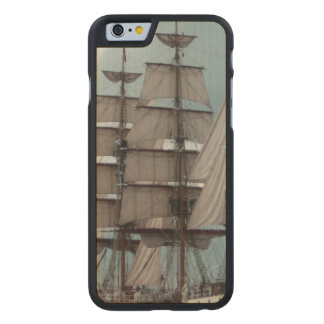 Gorgeous Tall Ship Carved® Maple iPhone 6 Slim Case
