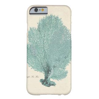 Gorgeous Turquoise Aqua Pacific Sea Fan iPhone 6 Case