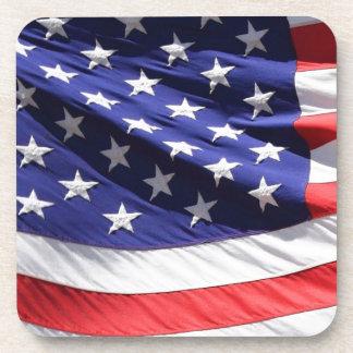 GORGEOUS USA FLAG DRINK COASTER
