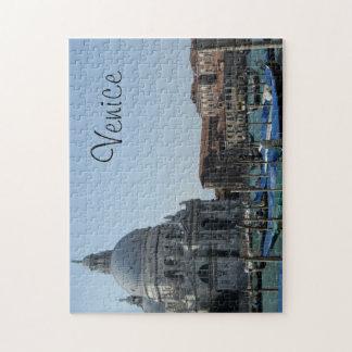 Gorgeous Venice Church Santa Maria on Water Jigsaw Puzzle