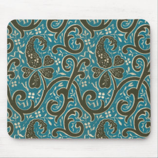 Gorgeous Vintage Floral Fabric Mousepad