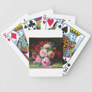 Gorgeous Vintage Flower Bicycle Playing Cards
