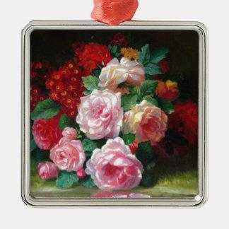 Gorgeous Vintage Flower Metal Ornament