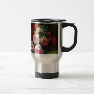 Gorgeous Vintage Flower Travel Mug
