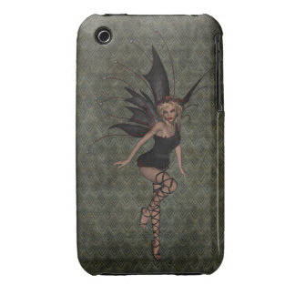 Gorgeous Vintage Gothic Fairy Case-Mate iPhone 3 Case