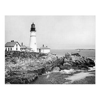 Gorgeous Vintage Lighthouse Photos - Add Text Postcard