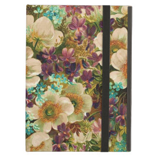 Gorgeous Vintage Mixed Floral iPad Covers
